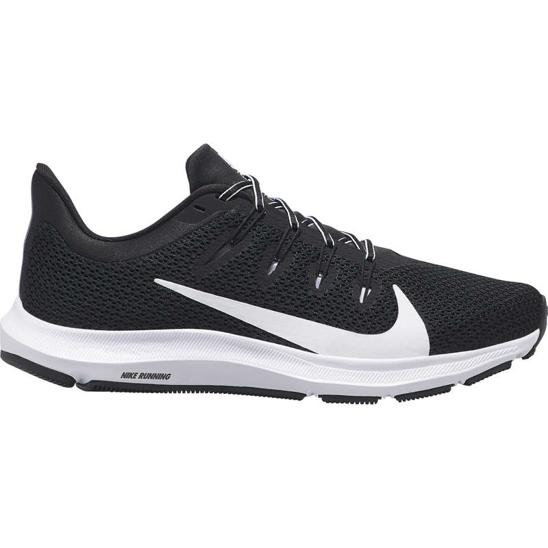 REGULAR WOMEN JOGGING SHOES Running - NIKE QUEST LADY BLACK AW19 NIKE - Running