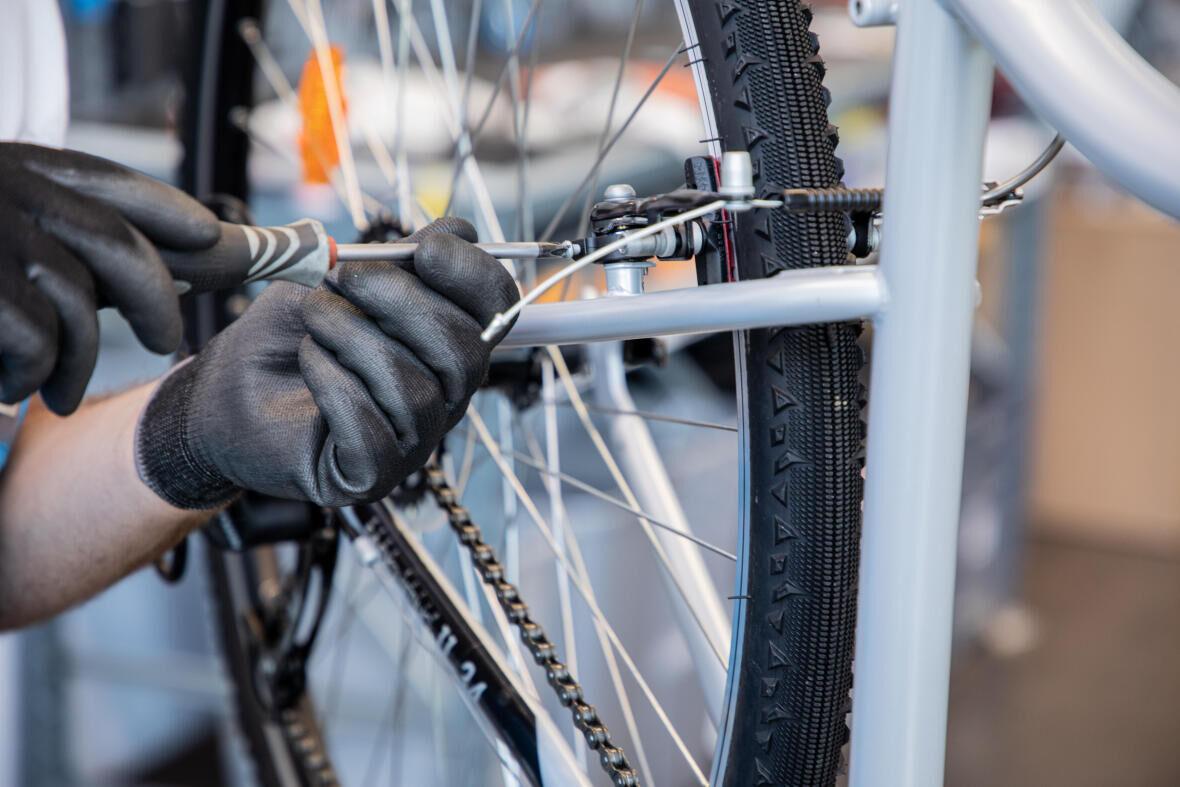 réparer son vélo