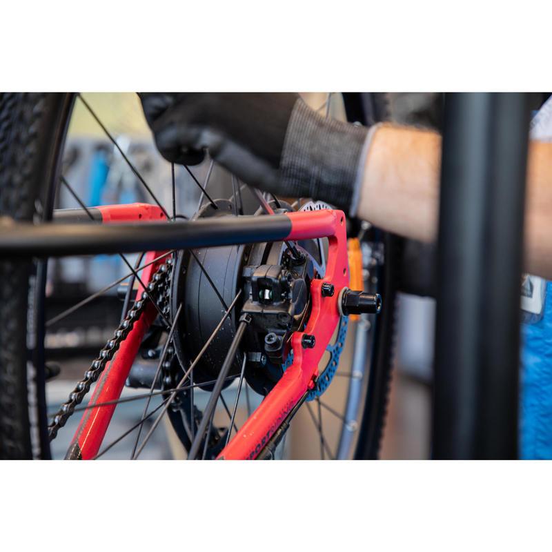 Changement du moteur dans la roue d'un VAE