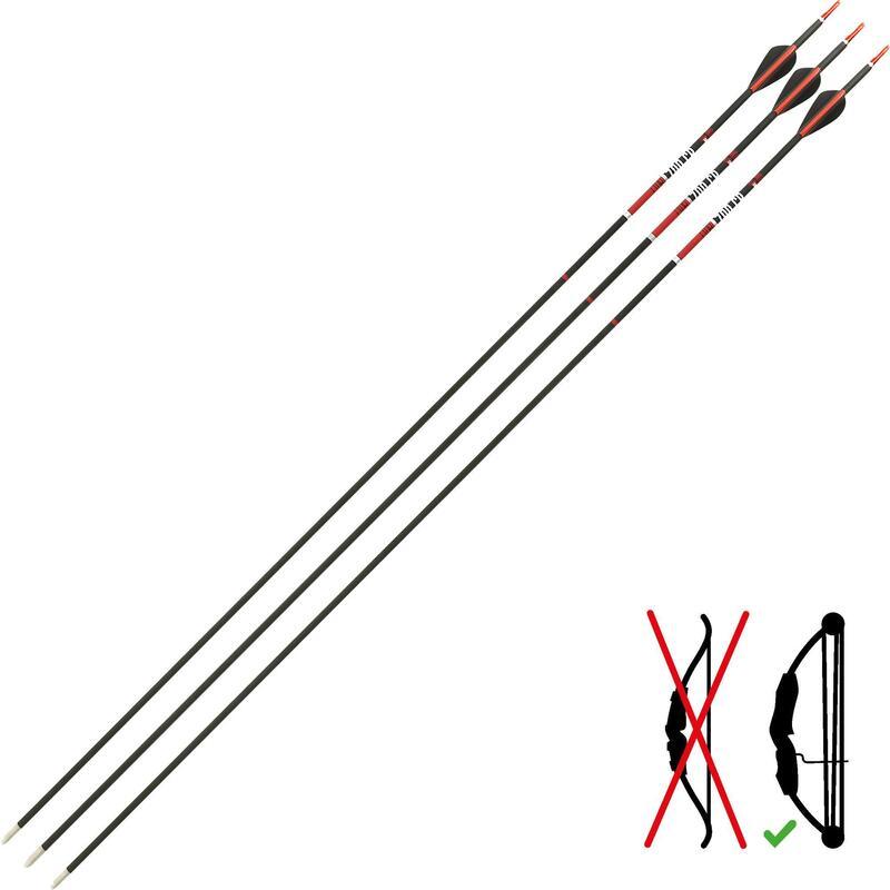 Săgeată 700 CLUB X 3 carbon arc cu scripete