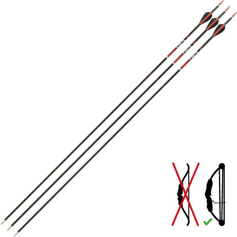 BOWS, ARROWS, KITS Archery - Arrows Club 700 CB Tri-Pack GEOLOGIC - Archery