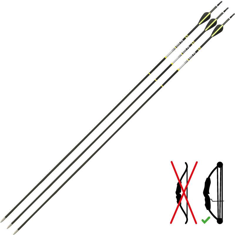 Săgeată 900 CLUB X 3 carbon arc cu scripete