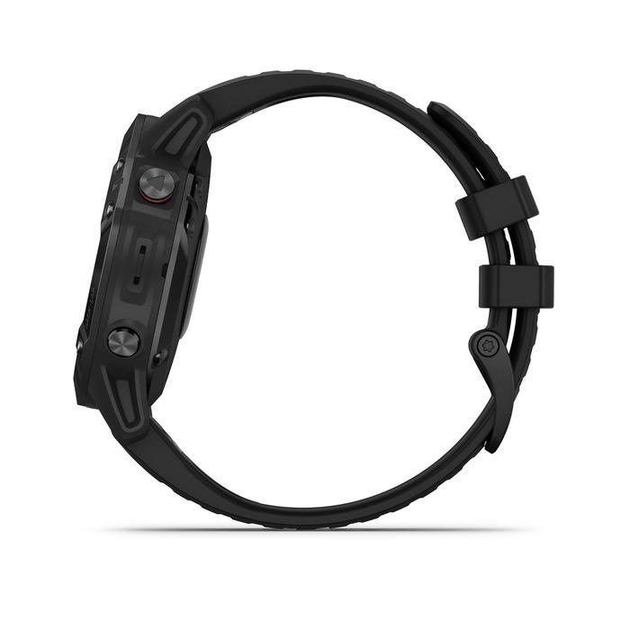 Relógio GPS multidesportos fénix 6 PRO bracelete preta