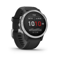 Montre GPS multisport fenix 6S Silver bracelet noir