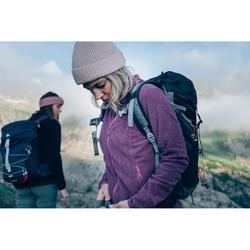Fleece damesvest voor bergwandelen MH120 donkerblauw