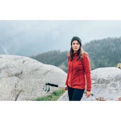 Fleecejacke Bergwandern MH120 Damen rot