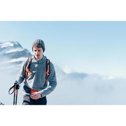 Polaire de randonnée montagne homme MH100 Gris Chiné