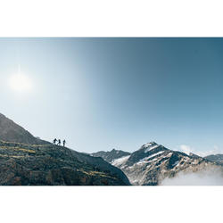 Fleecejacke Bergwandern MH520 Herren schwarz