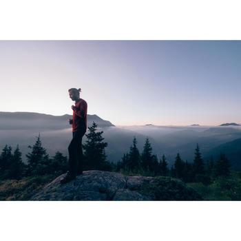 Veste polaire de randonnée montagne homme MH900 Bordeaux Chiné