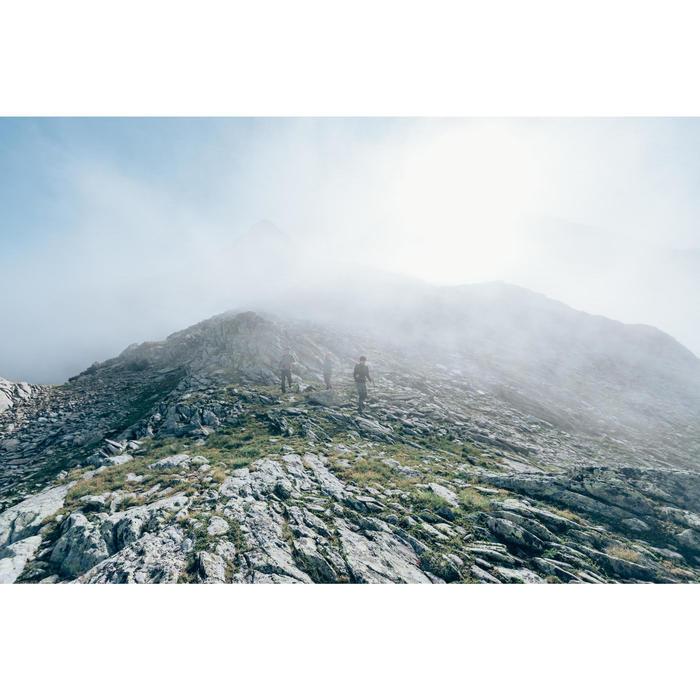 Veste polaire de randonnée montagne homme MH120 Gris Chiné