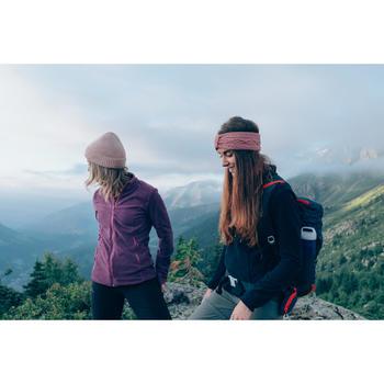Fleecepullover MH100 Bergwandern Damen lila