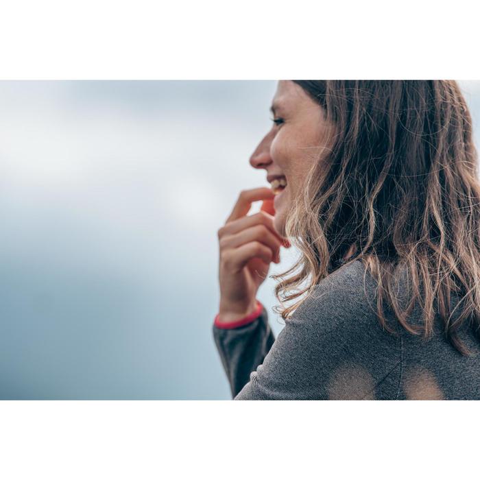 Damesfleece voor bergwandelen MH100 grijs