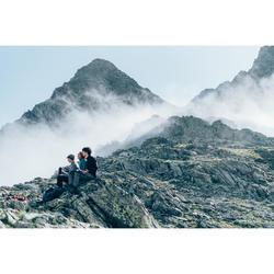 Veste polaire de randonnée montagne femme MH520 kaki clair