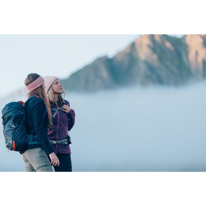 Polaire de randonnée montagne femme MH100 violette
