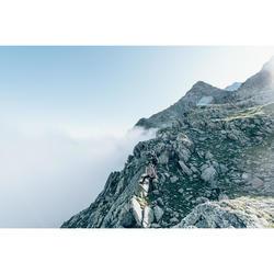 Fleecejacke MH120 Bergwandern Herren khaki