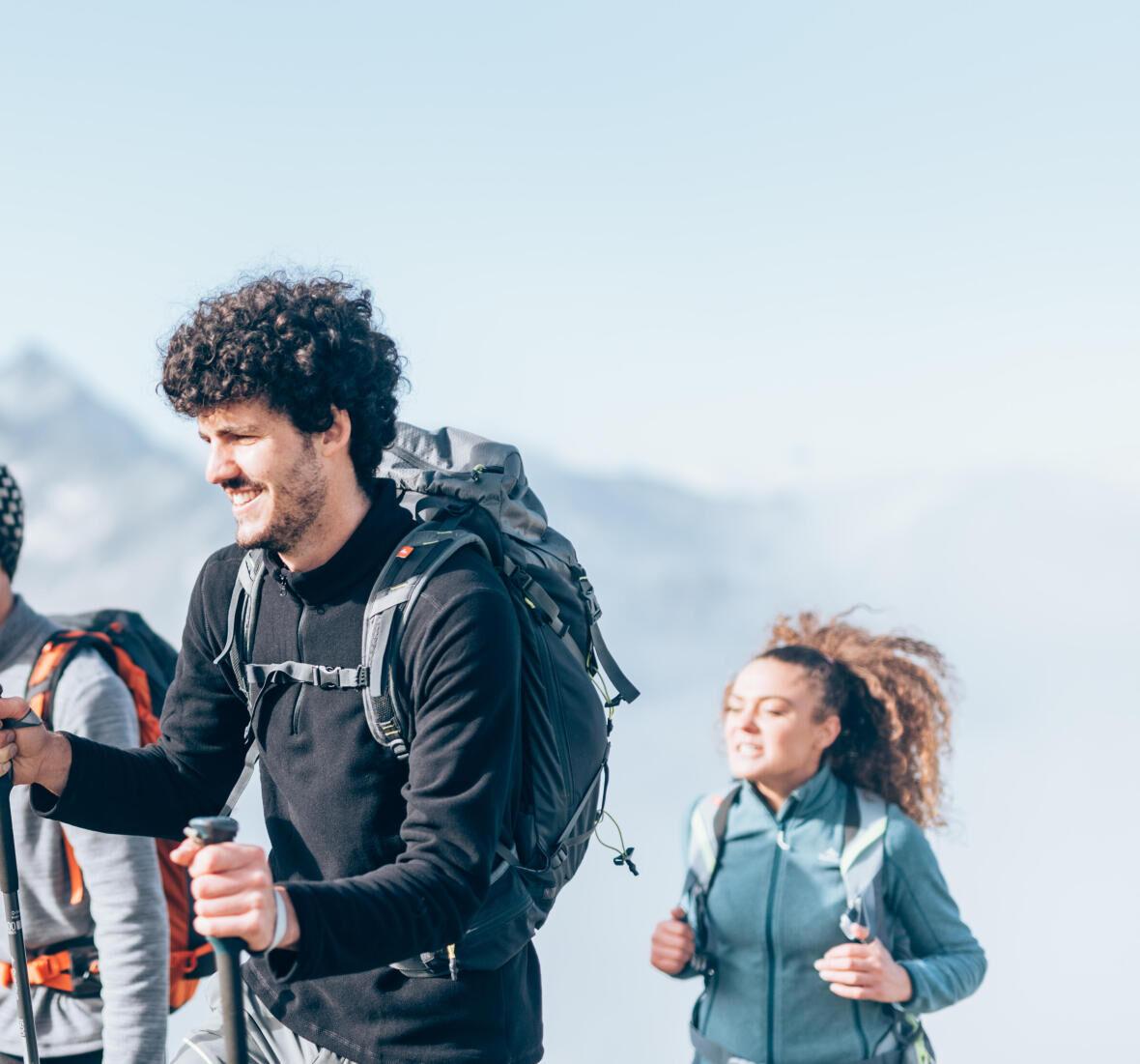 fleece warmth breathability hiking