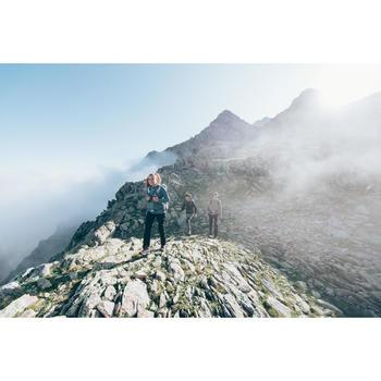 男款登山健行刷毛背心MH120-黑色