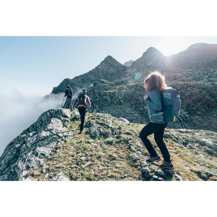 Fleecejacke MH120 Bergwandern Damen türkis