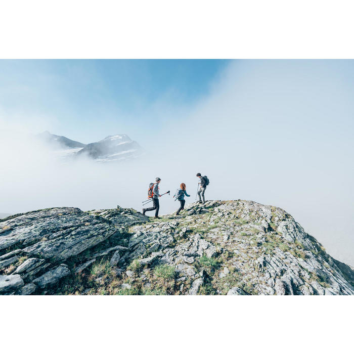 Polaire de randonnée montagne femme MH500 beige