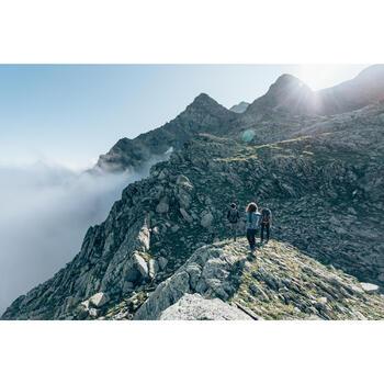Fleecejacke Bergwandern MH120 Herren dunkelblau