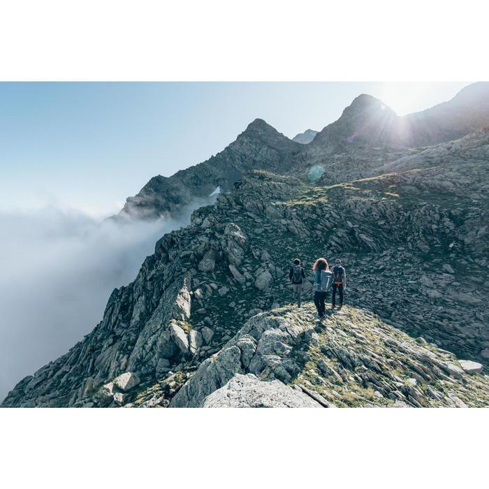 Veste polaire de randonnée montagne femme MH520 framboise