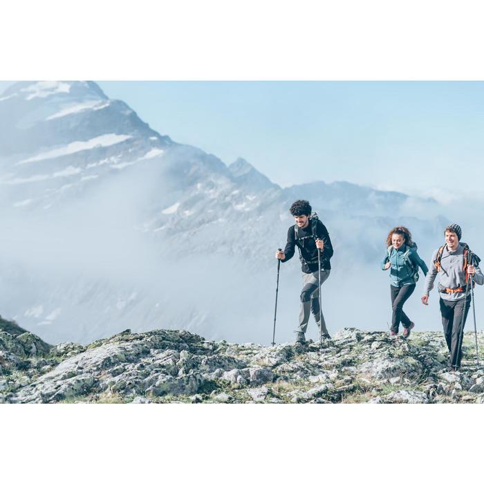 Polaire de randonnée montagne homme MH100 Noir