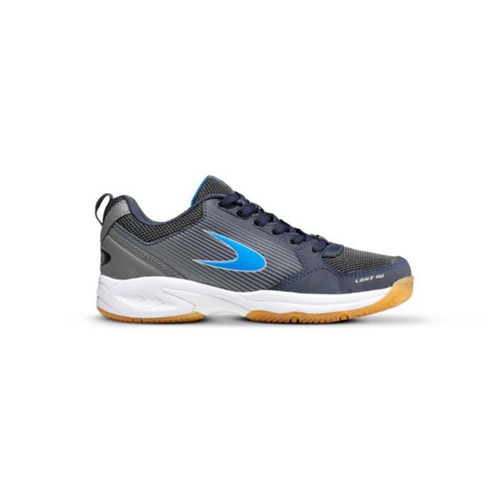 Chaussures de hockey en salle enfant intensité moyenne LGHT150 bleu