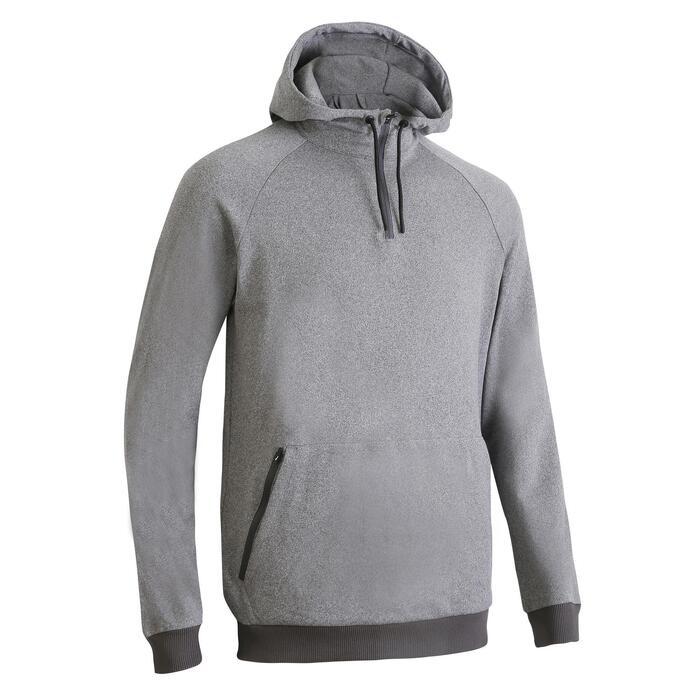 FSW 500 Fitness Cardio Training Sweatshirt - Grey