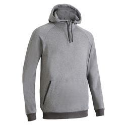 有氧健身訓練運動衫FSW 500-灰色