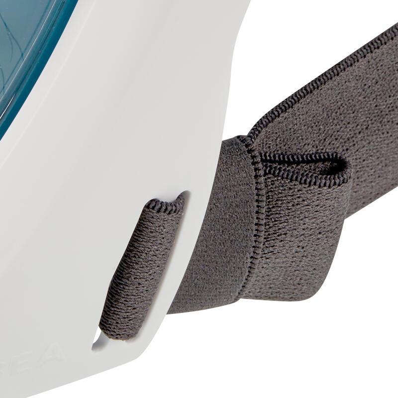 หน้ากากดำน้ำด้วยท่อหายใจบริเวณผิวน้ำรุ่น Easybreath 500 (สีเทอร์ควอยซ์เข้ม)