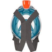 Máscara Snorkel Superficie Easybreath 500 Turquesa Oscuro