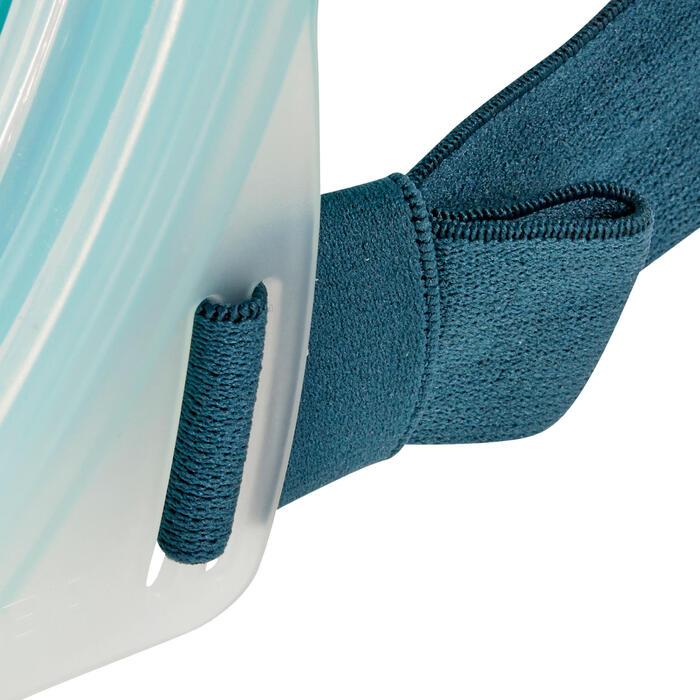Snorkelmasker Easybreath 500 licht turquoise