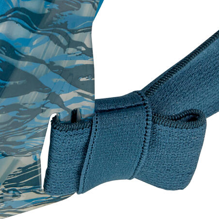 Masker Snorkel Permukaan Easybreath 500 Oyster