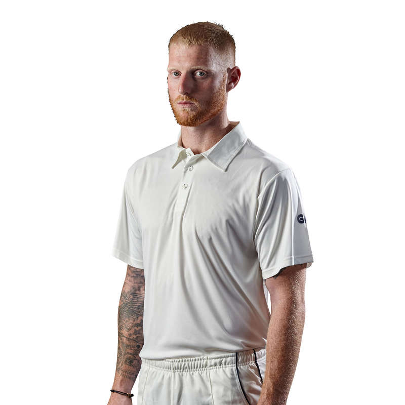 LEATHER BALL INTERMEDIATE APPAREL ADULT Cricket - GM Premier Club Shirt Senior GUNN & MOORE - Cricket