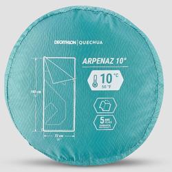 Slaapzak Arpenaz - 10°C - turkoois