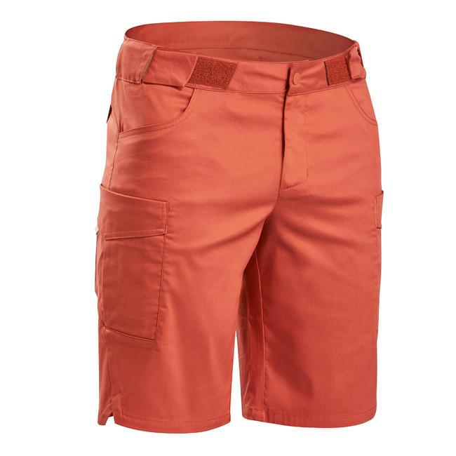 Men's Hiking Shorts NH500 - Brick Red