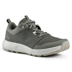 NATURE HIKING SHOES - NH150 - CARBON GREY - WOMEN