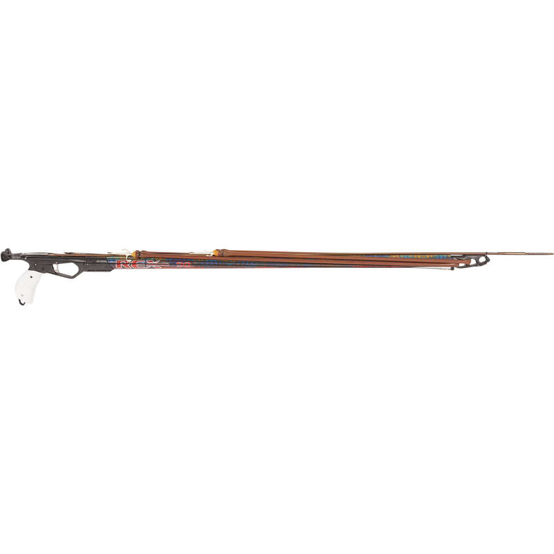 SPEARGUNS 100/+ CM, BUNGEES, SHAFTS Spearfishing - Speargun REX INVICTUS 100 cm OMER - Spearfishing