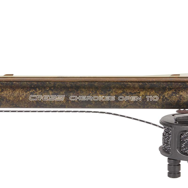 Arbalète CRESSI CHEROKEE 110 cm de chasse sous-marine en apnée