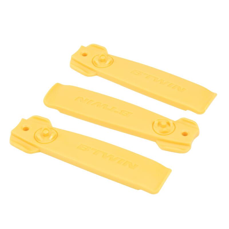 3 riepu sviru komplekts, dzeltenas