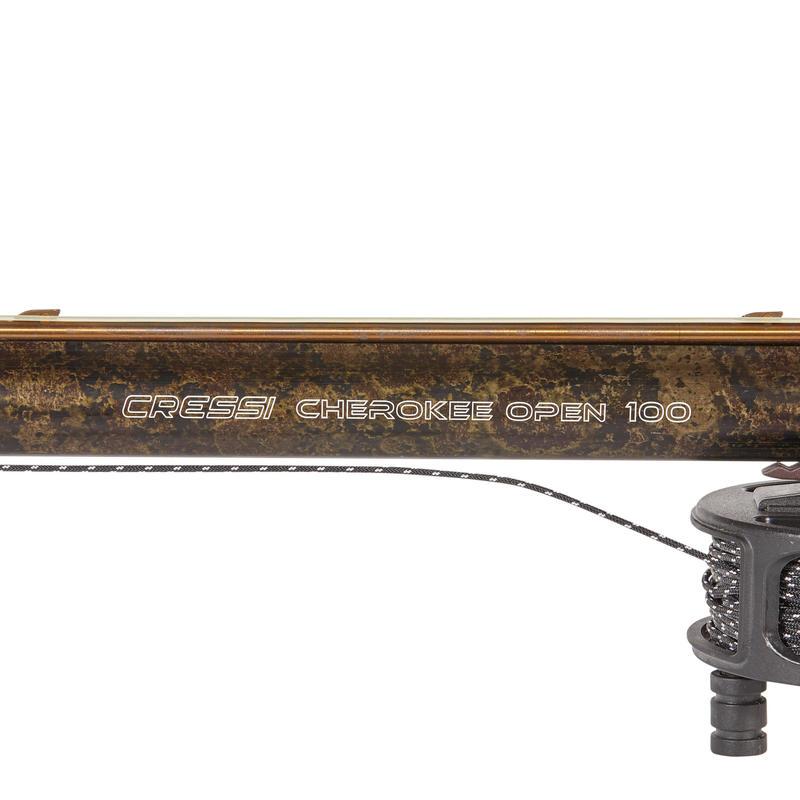 Arbalète CRESSI CHEROKEE 100 cm de chasse sous-marine en apnée