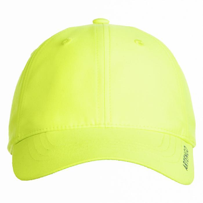 Tennispet TC 500 geel/marineblauw maat 54
