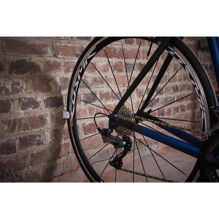 Wand fietsbeugel voor racefiets Clug (23-32 mm)