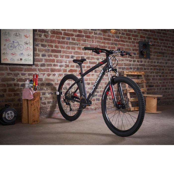 Wand fietsbeugel voor mountainbike Clug (L 44-57 mm)
