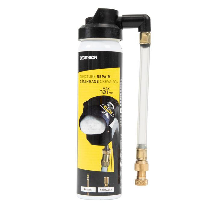 Bandenreparatie spray voor fiets Presta- en Schraderventiel