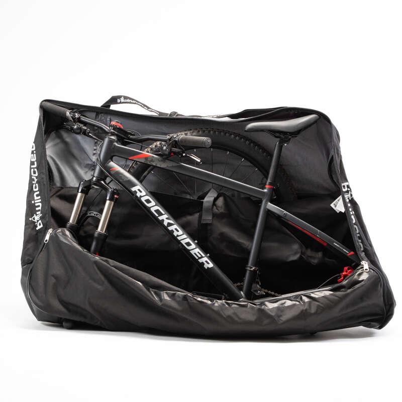 Перевозка велосипедов Велоспорт - Чехол для перевозки велосипеда BTWIN - Аксессуары