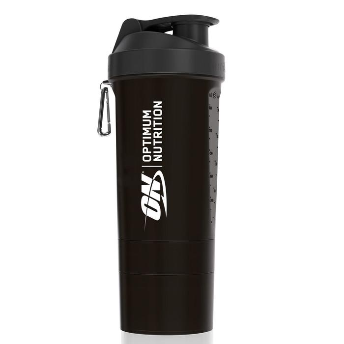 Shaker Optimum Nutrition 700ml avec stacker à visser
