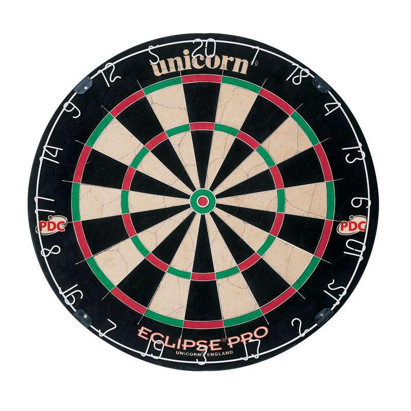 CÉLTÁBLÁK ÉS DARTS NYILAK ACÉL HEGGYEL Darts - Céltábla dartshoz Eclipse Pro UNICORN - Darts tábla