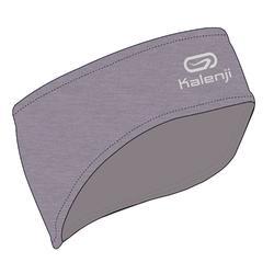 Warme hoofdband voor hardlopen grijs