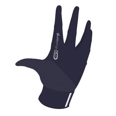 EVOLUTIV BY NIGHT RUNNING GLOVES NAVY